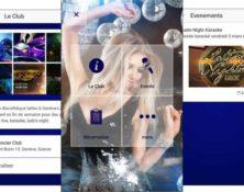 Application mobile pour club discothèque